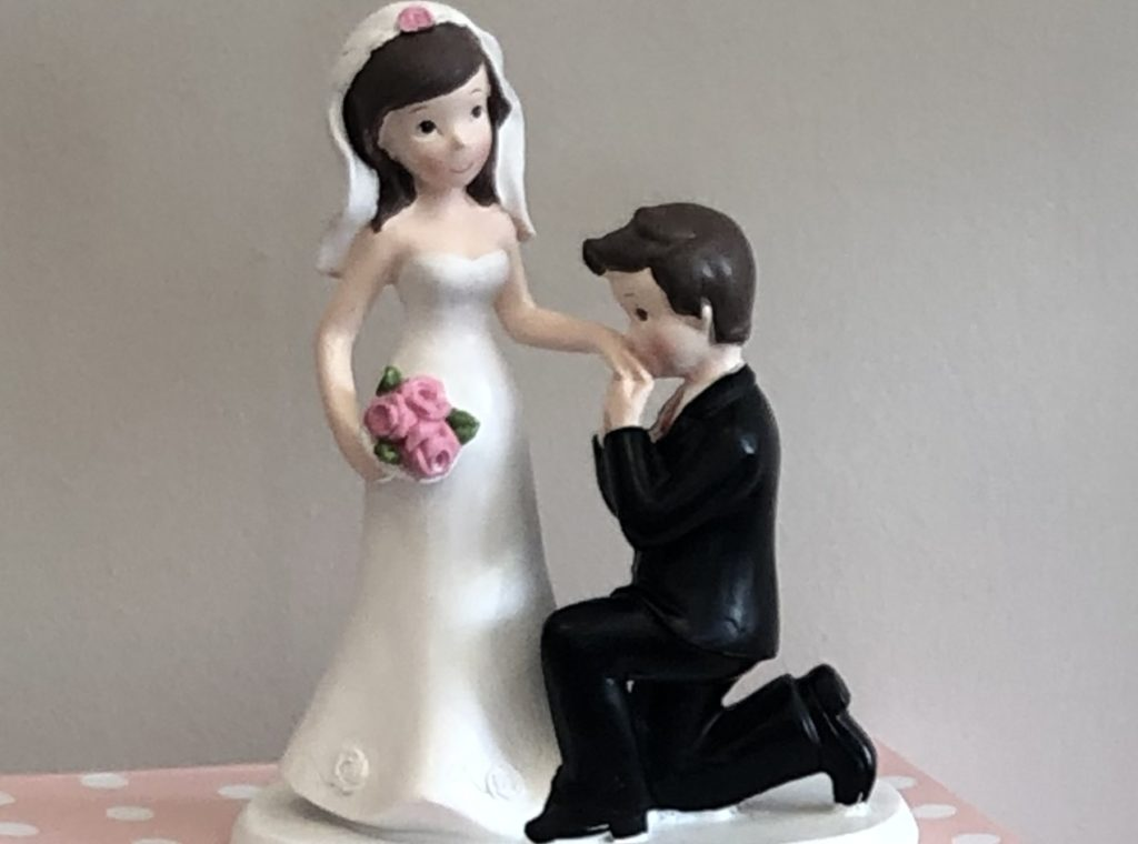 mariage statue